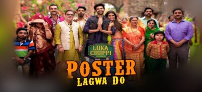 Poster Lagwa Do song Lyrics – Luka Chuppi (2019)